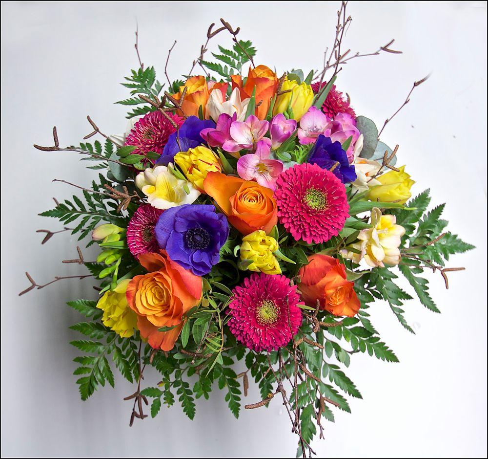 Blumenstrauß Foto & Bild   flower, natur, blume Bilder auf