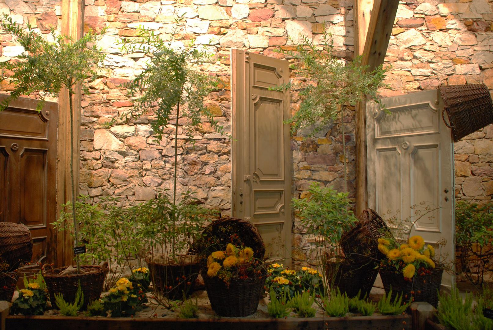 Blumentüren