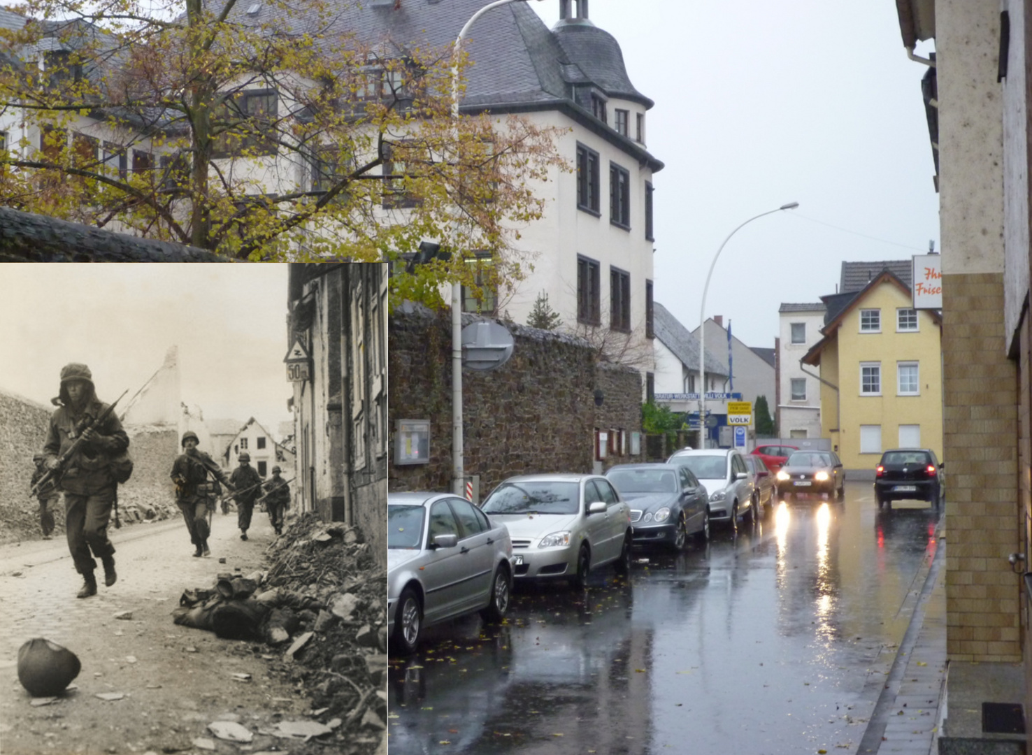 Blutiges Koblenz 1945 - Now and then