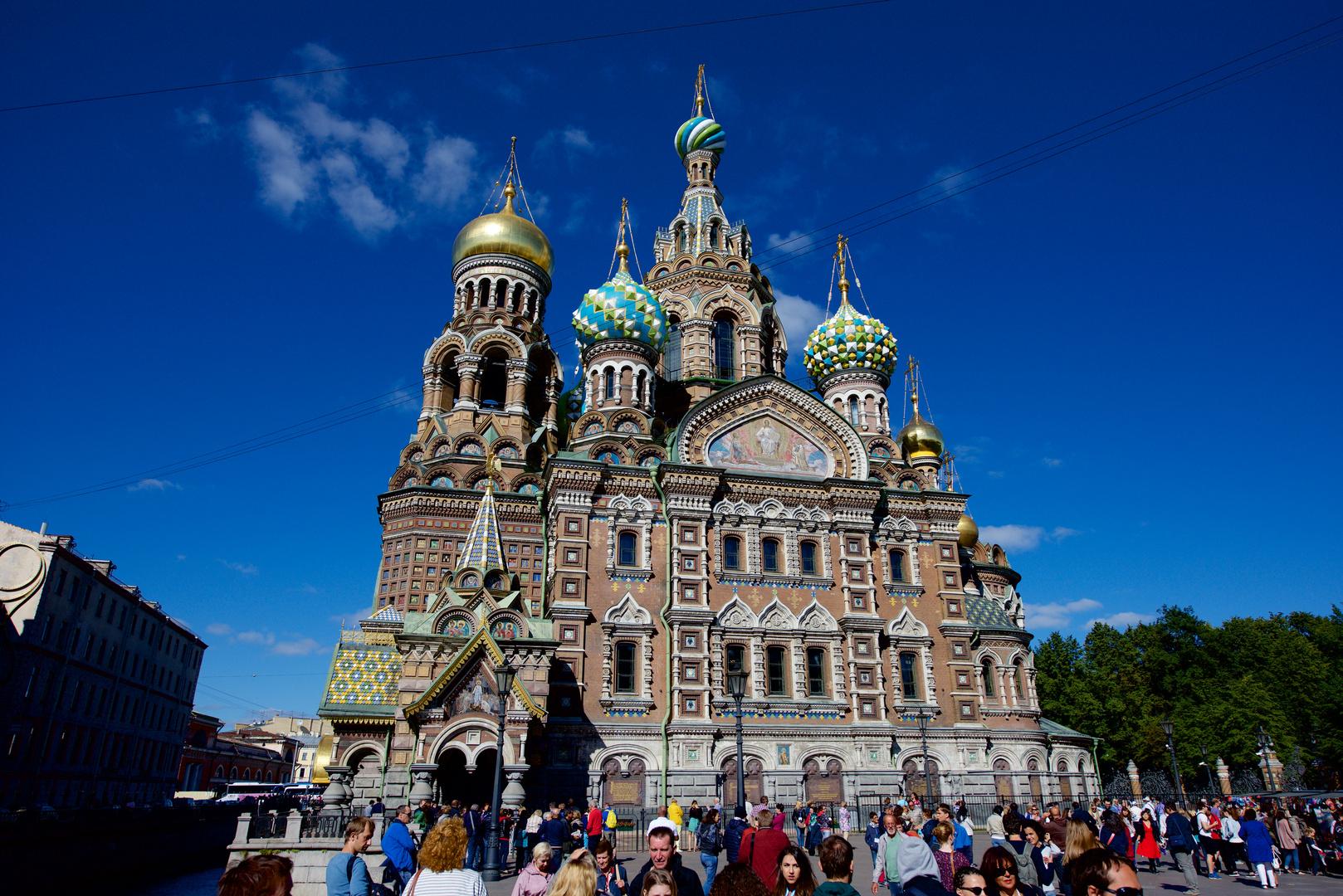 Blutkirche in St. Petersburg