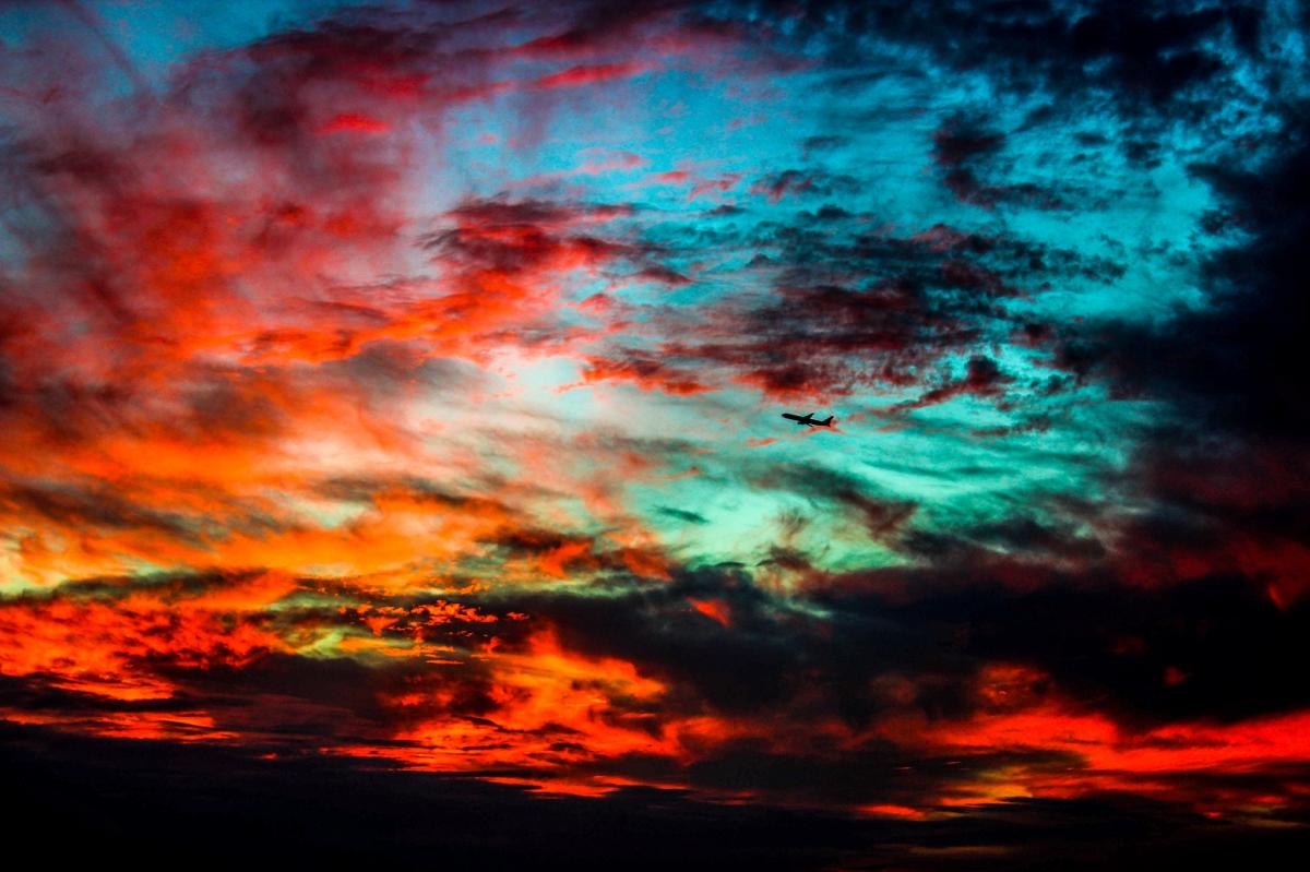 Blutroter Himmel