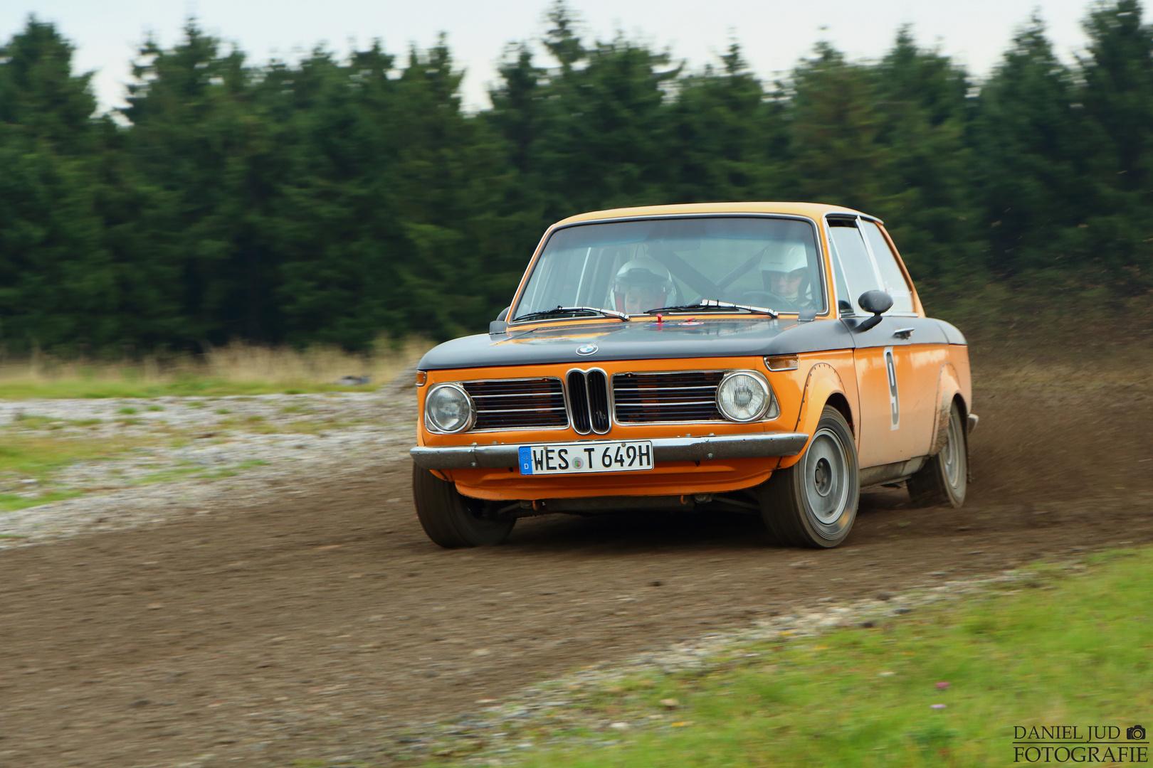 BMW 2002 ti - ADAC Rallye Siegerland-Westerwald