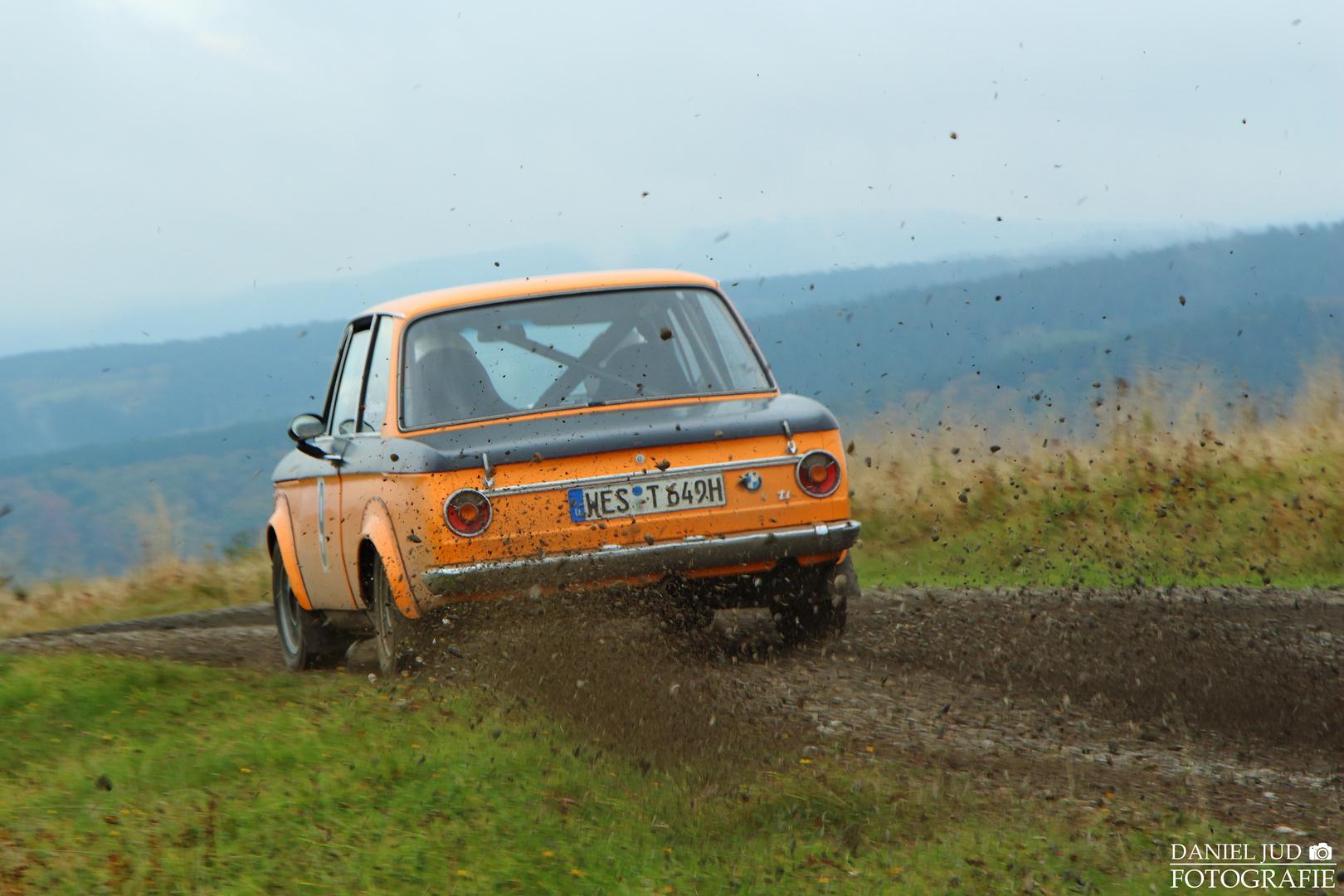 BMW 2002 ti - ADAC Rallye Siegerland-Westerwald -