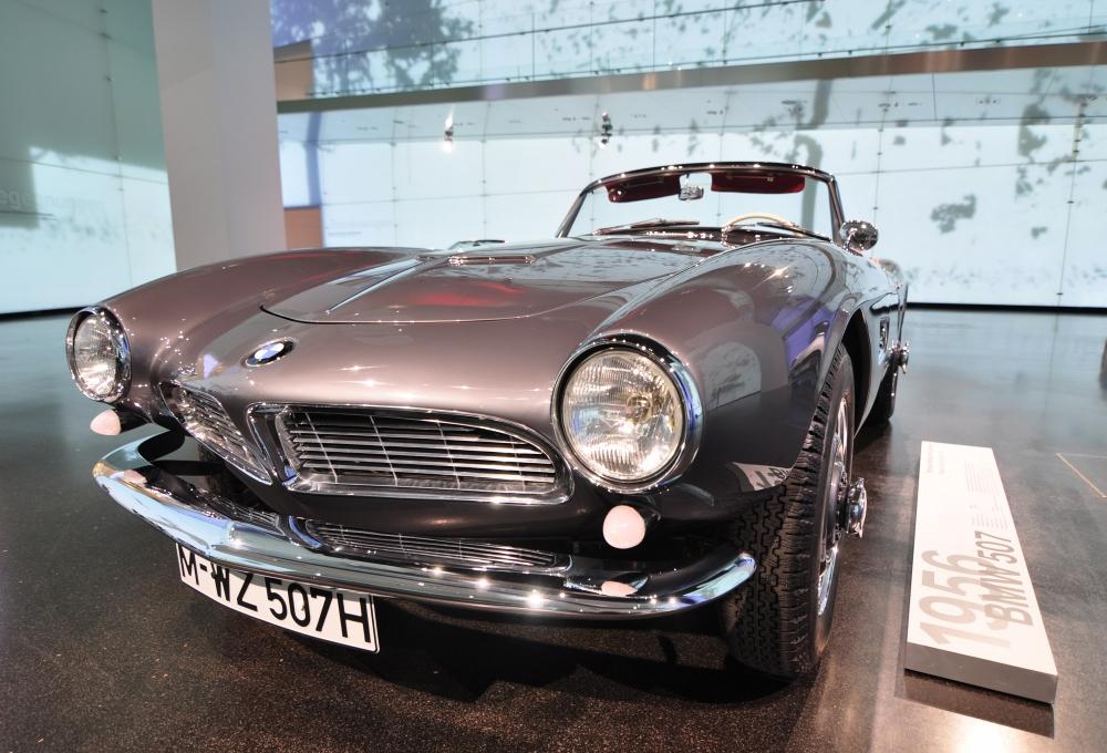 BMW 507 im BMW Museum in München