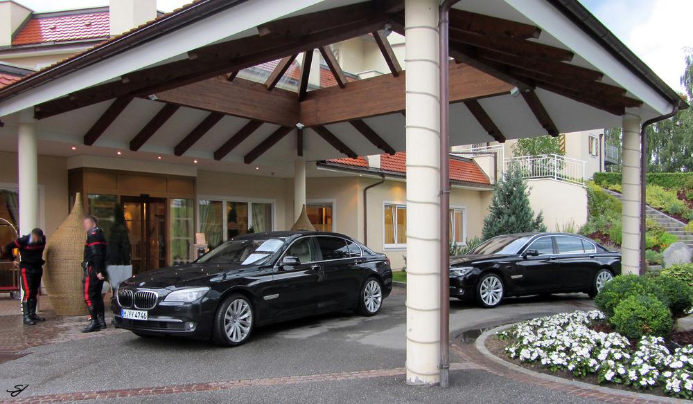 BMW 750iL in Bruneck