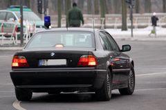 BMW 7er Polizei..