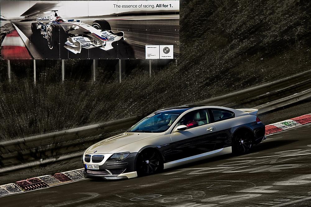 BMW auf der Nordschleife