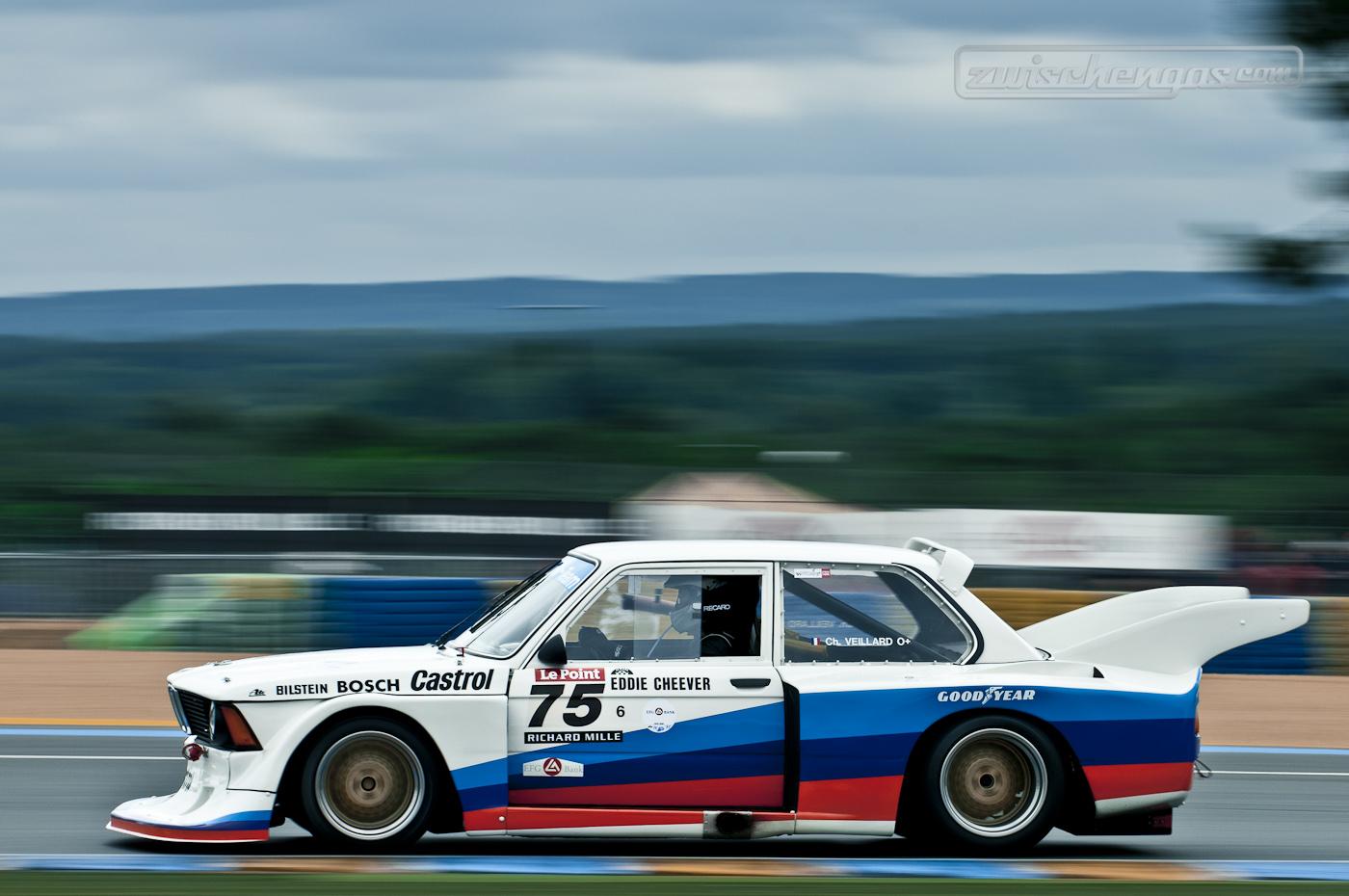 BMW E21 320i Gruppe 5 @ Le Mans Classic 2012 (f11, 1/80sec)