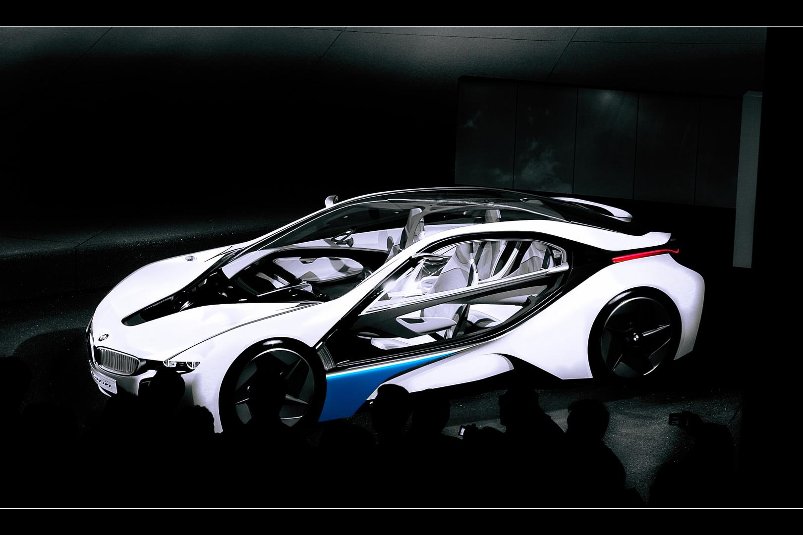 BMW Hybrid Prototyp - Vision EfficientDynamics
