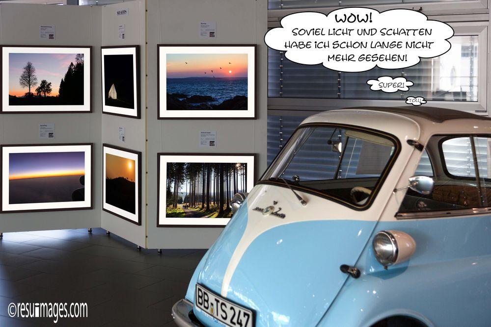 BMW ISETTA vor resufotos Expo BLICKE bis Mai16 Stgt P*
