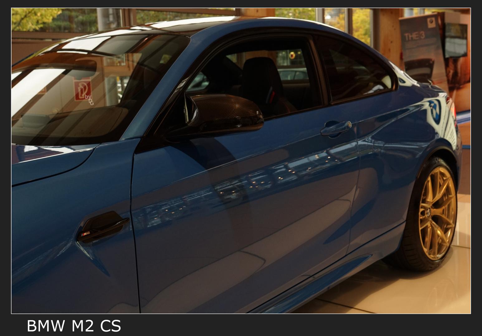 BMW M2 CS in Misano Blau metallic