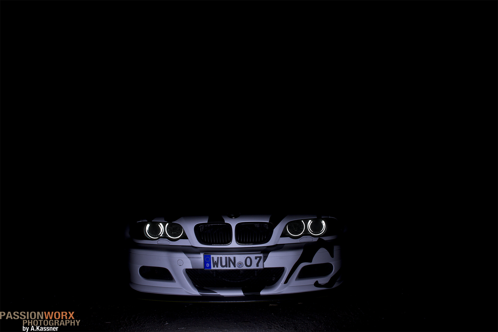 BMW M3 Arctic Camouflage