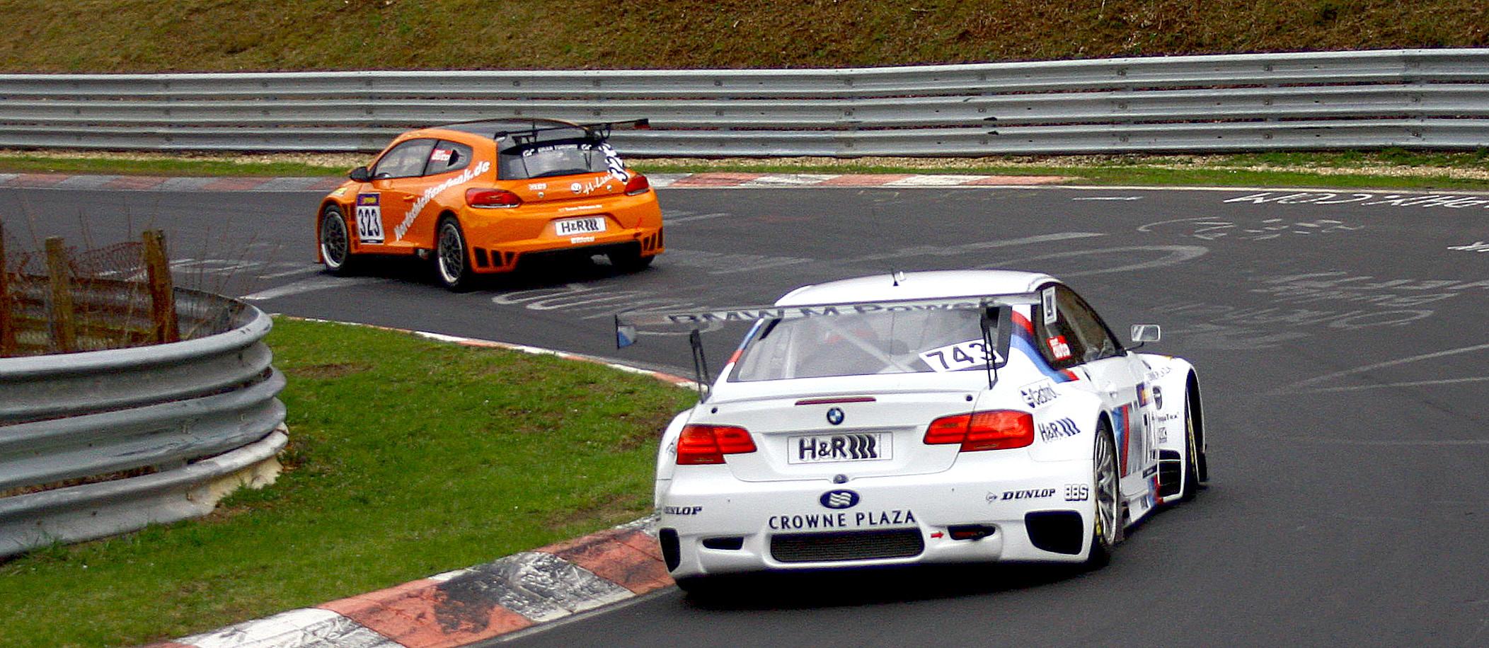 BMW M3 mitten in der Verfolgungsjagd =)