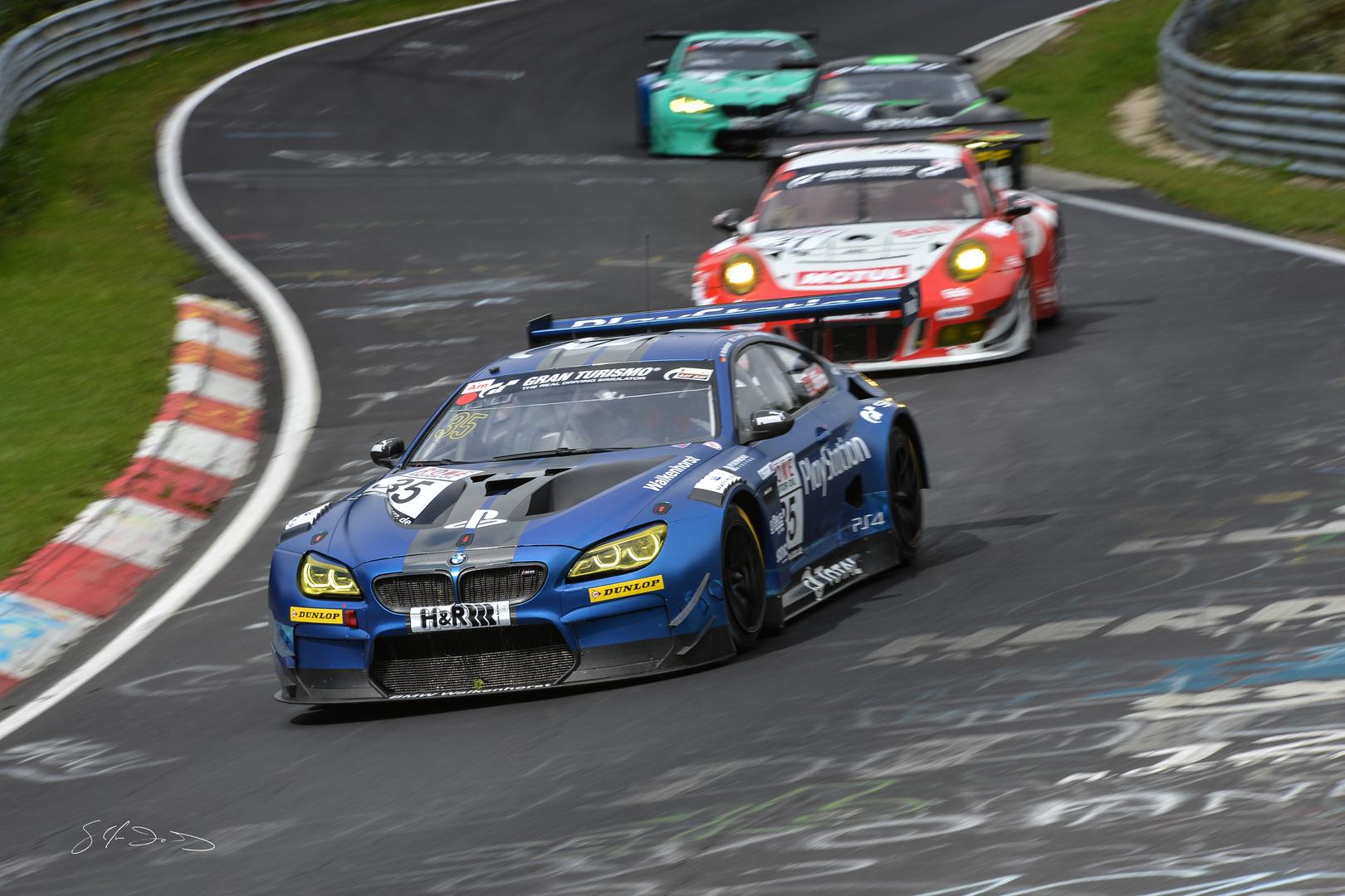 BMW M6 GT3 Walkenhorst Motorsport