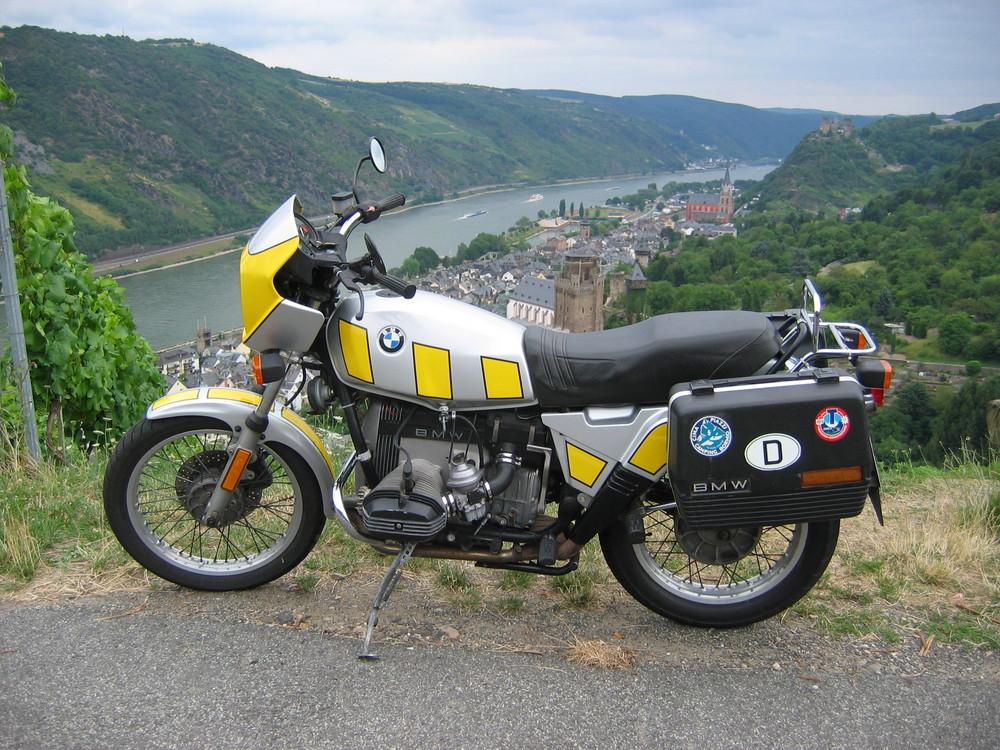 BMW R80ST am Mittelrhein