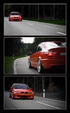 ... BMW unterwegs ...