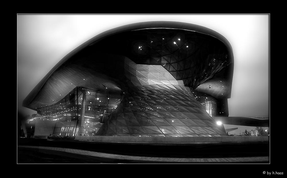 BMW World by Night