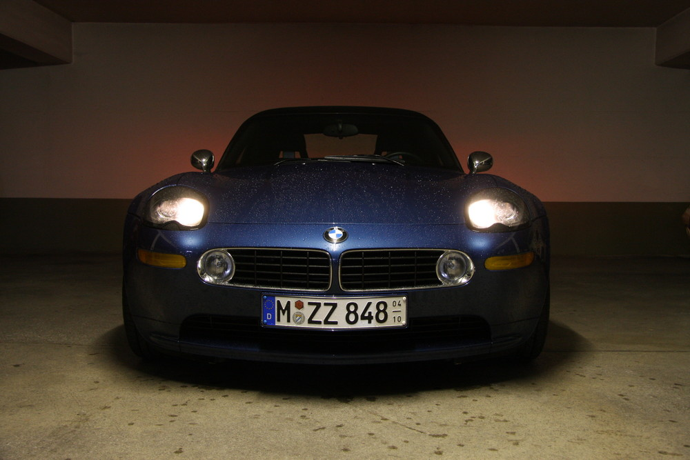 BMW Z8 in Garage