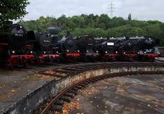 BO-Dahlhausen, Dampflokomotiven