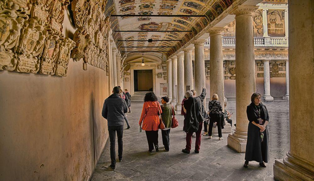Bo Palast, Universität von Padua, Venetien, Italien