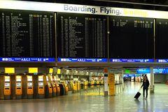 Boarding, Flying, Smiling