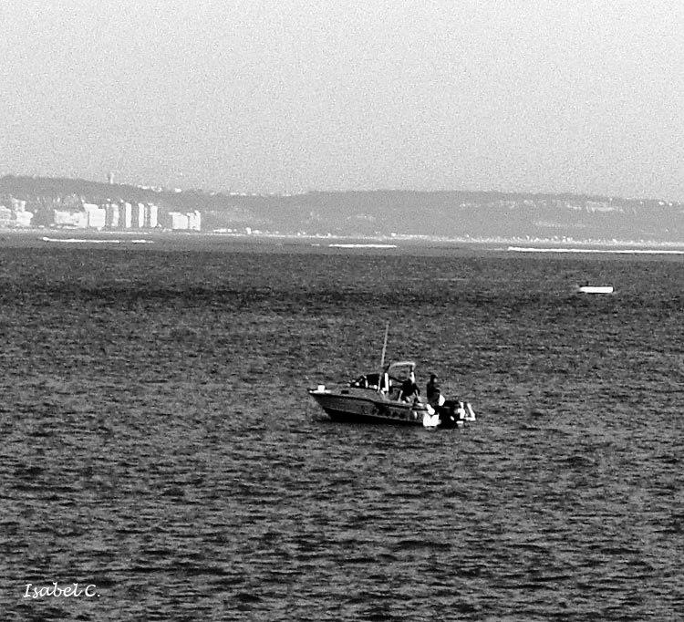 Boat and sea