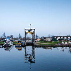 boat hoist in Ely