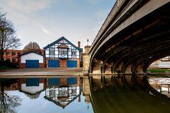 boat house in Cambridge