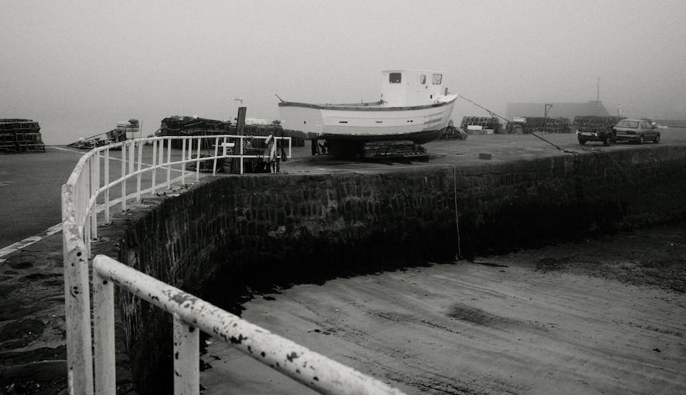 Boat in Stonehaven