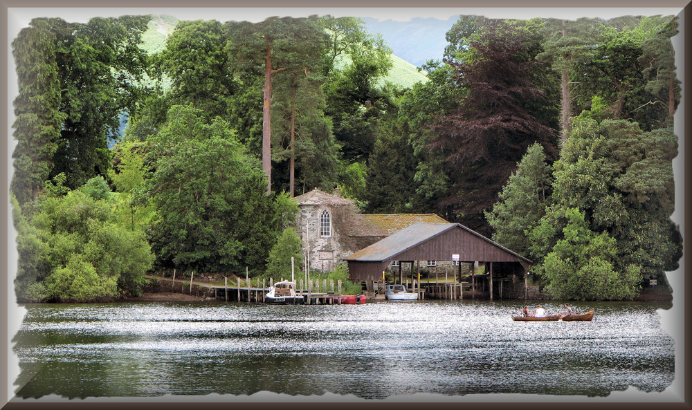 Boathouse on Derwent water