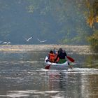 BOATING IN FALL WATERS