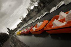 Boats in Metz