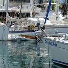 Boats in Puerto Mogan harbour