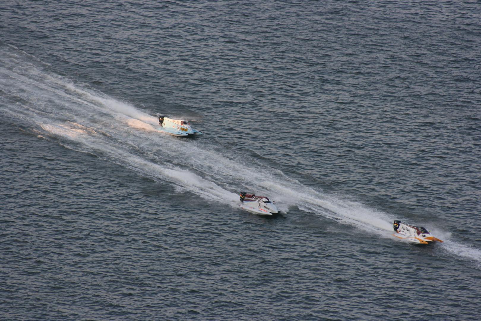 Boats Race in Sharjah