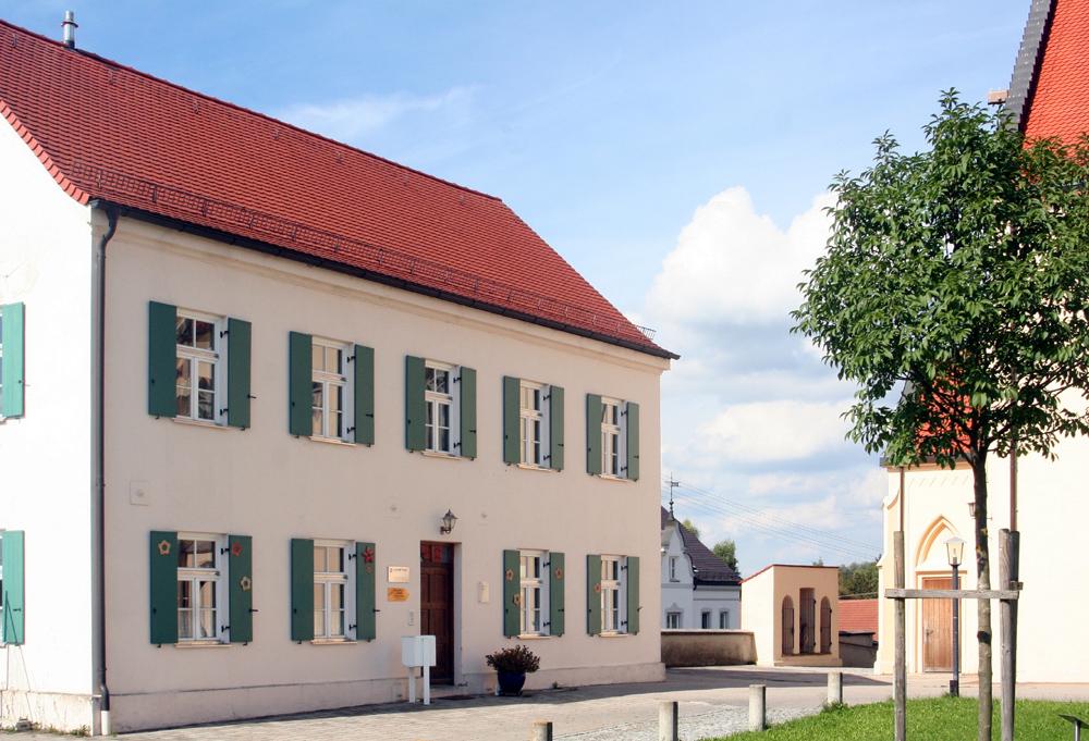Bobingen: das ehemalige Benefiziatenhaus