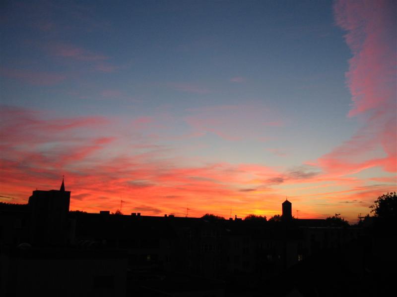Bochum's Sunset