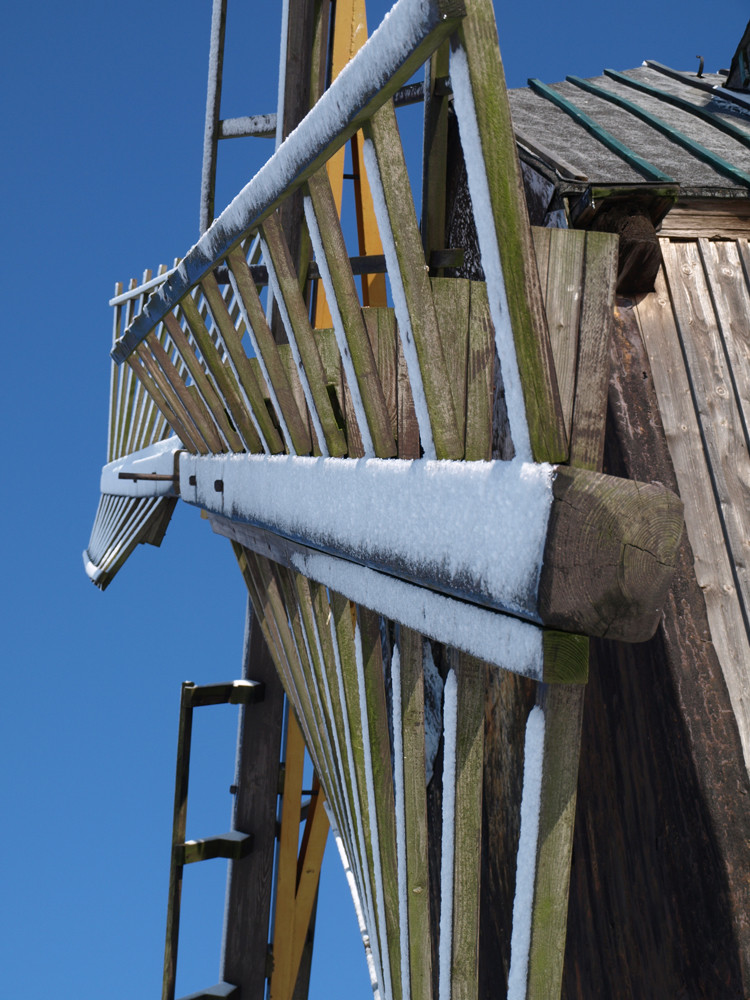 Bockwindmühle (Detail)