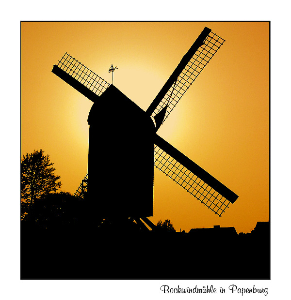 Bockwindmühle in Papenburg