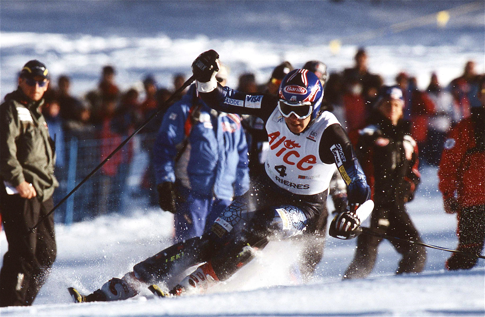 Bode Miller 2005/Slalom de Sestrières