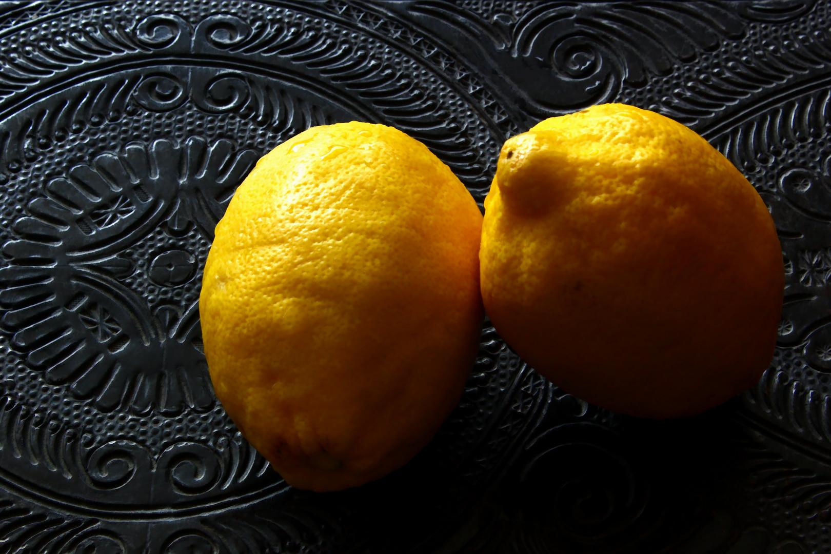 Bodegón Limones Amarillos