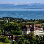 Bodensee mit Schloss Spetzgart