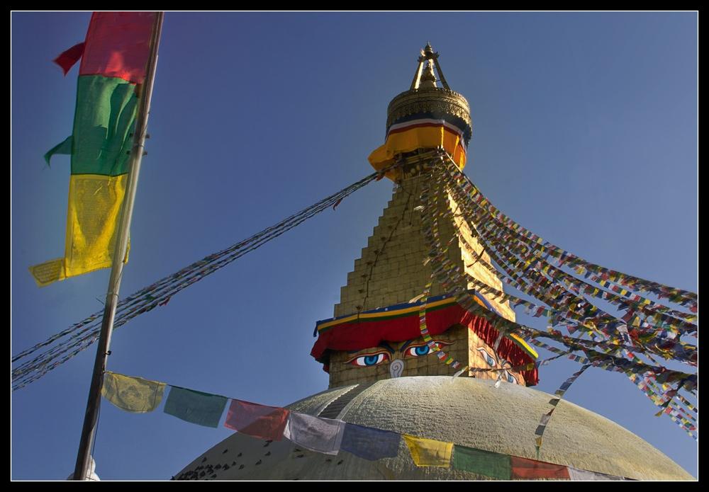 Bodnath Stupa...