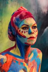 Bodypainting by Mia Hnriqz #1