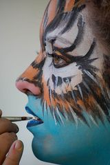 Bodypainting Seeboden