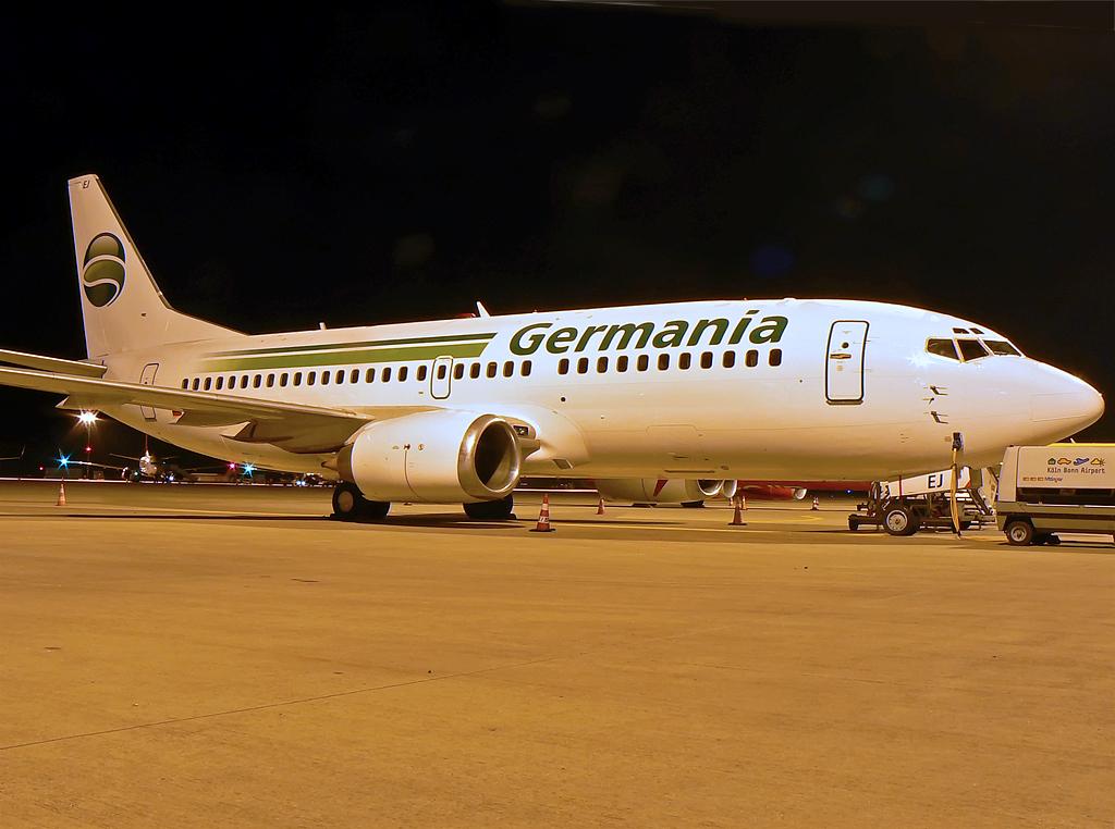 Boeing 737-3L9 TUIfly Germania D-AGEJ