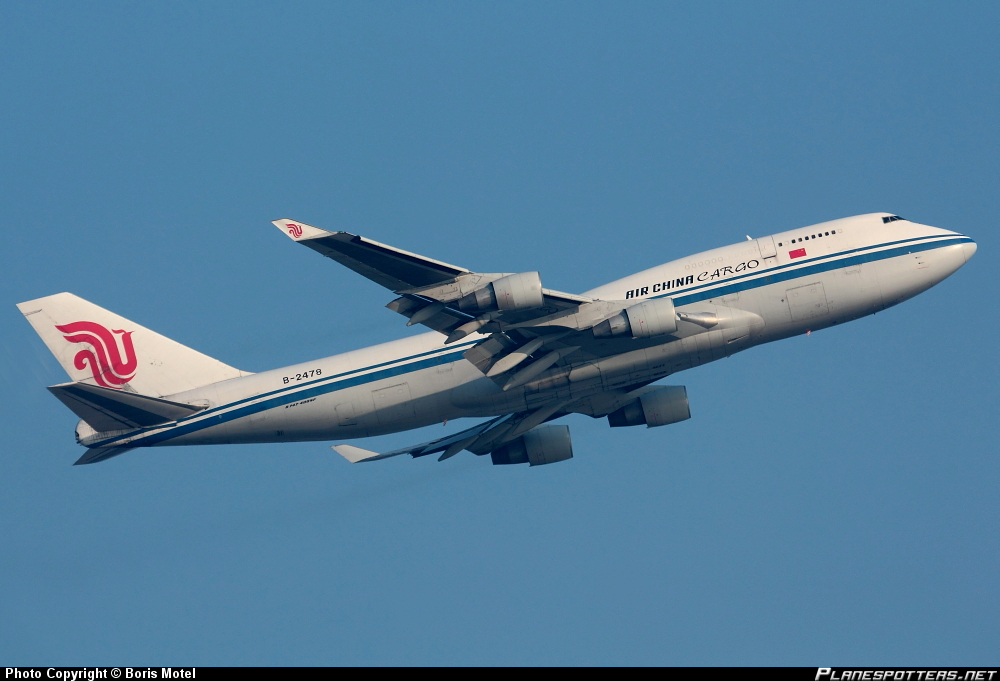 Boeing 747-433 /BCF Air China Cargo