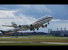 Boeing 747-4F6 der Vereinigten Arabischen Emirate (Luftwaffe)