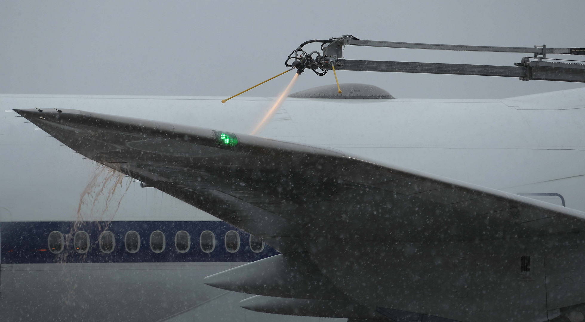Boeing 747-8i Raked Wing Tip
