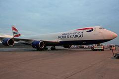 Boeing 747-8UF(SCD) BA World Cargo G-GSSD #1