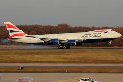 Boeing 747-8UF(SCD) BA World Cargo G-GSSD #3
